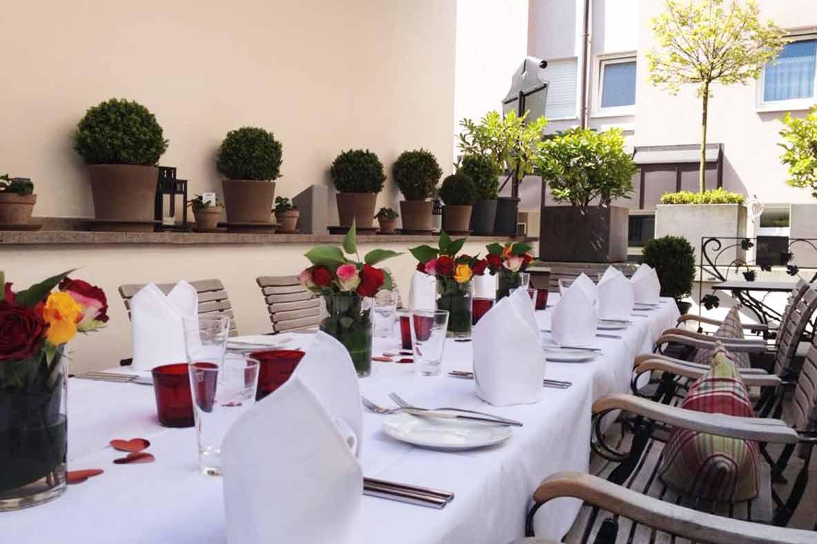 Hochzeit feiern im Restaurant Schuberts Bad Kissingen