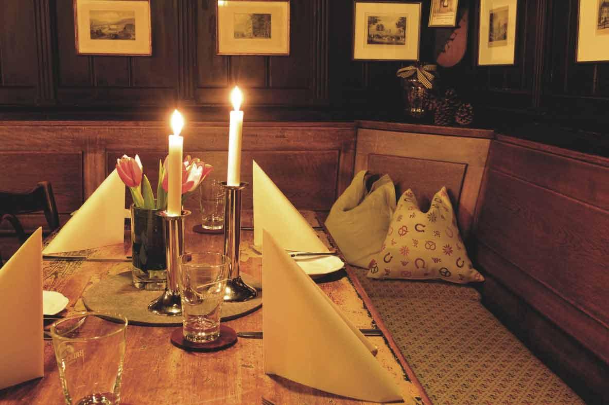 Historische Weinstube des Restaurants Schuberts Weinstube